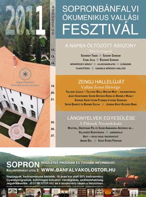 I. Sopronbánfalvi Ökumenikus Vallási Fesztival