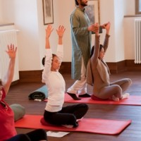 Jóga a Noviciátusban / yoga in the novitiate hall